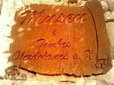 Rètol Museu Sant Mateu